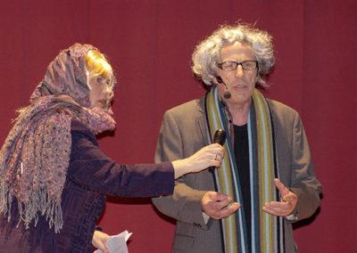 Inge & Gert som Ulla Terkelsen og  Jørgen Leth