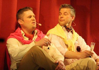 Jeppe & Jan Erik som snobberne