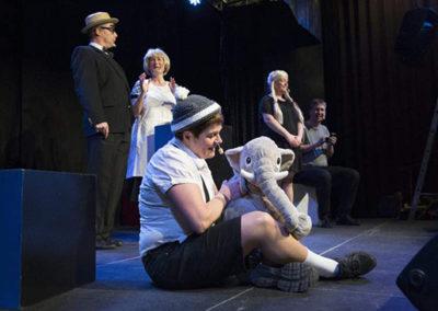 Anette, Jan Erik, Inge, Tina som Far til 4