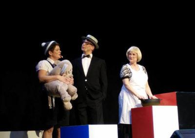Anette, Jan Erik & Inge som Far til 4