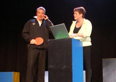 Jan Erik & Anette i halkapacitet