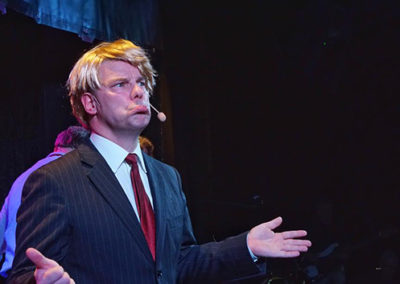 Jan Erik som Trump