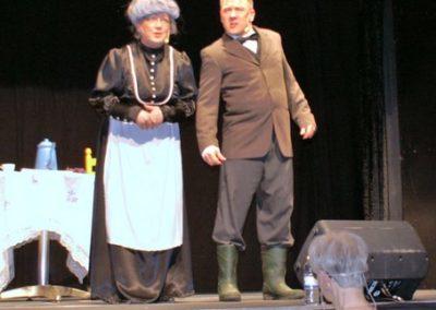 Tina & NP som herskabet på Kollerup 2
